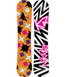 K2 Vavavoom Rocker Snowboard 148 Orange