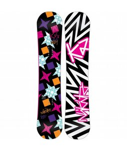 K2 Vavavoom Rocker Snowboard 152 Black