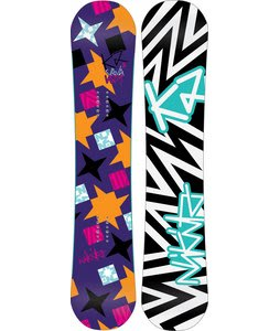 K2 Vavavoom Rocker Snowboard 152 Purple
