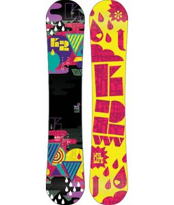 K2 Vavavoom Rocker Snowboard 139 Yellow