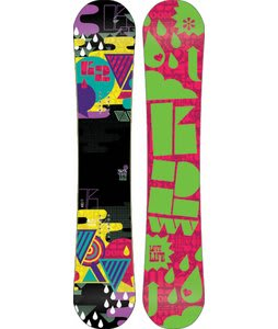 K2 Vavavoom Rocker Snowboard 152 Pink