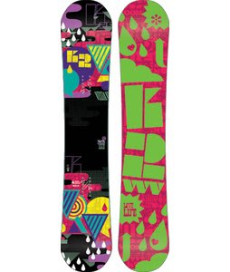 K2 Vavavoom Rocker Snowboard 152 Yellow