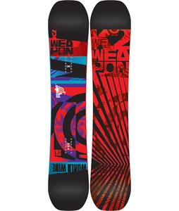 K2 World Wide Weapon Wide Snowboard