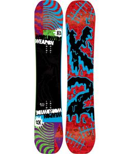 K2 WWW Wide Snowboard 152 Blue