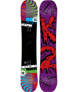K2 WWW Rocker Wide Snowboard Green 148