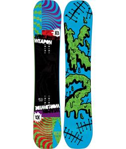 K2 WWW Rocker Wide Snowboard Purple 152