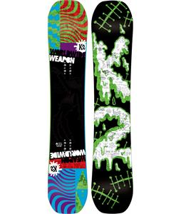 K2 WWW Rocker Snowboard Red 154