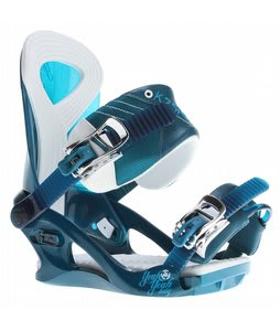 K2 Yeah Yeah Snowboard Bindings Dark Teal