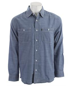 Kavu Charlestown L/S Shirt Slate Blue