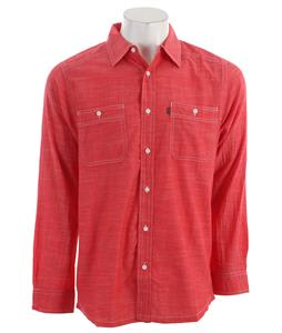 Kavu Charlestown L/S Shirt Red