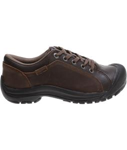 Keen Briggs Leather Shoes Cascade Brown