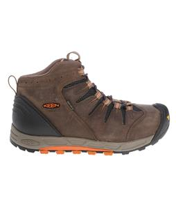 Keen Bryce Mid Hiking Shoes Shitake/Burnt Orange