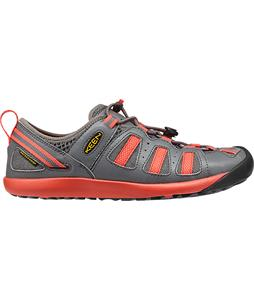 Keen Class 5 Tech Shoes Gargoyle/Hot Coral