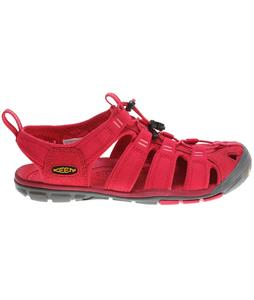 Keen Clearwater CNX Sandals Barberry/Hot Coral