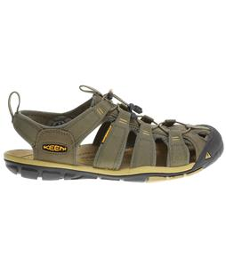 Keen Clearwater CNX Sandals Burnt Olive/Olivenite