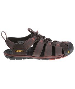 Keen Clearwater CNX Sandals Raven/Burnt Henna