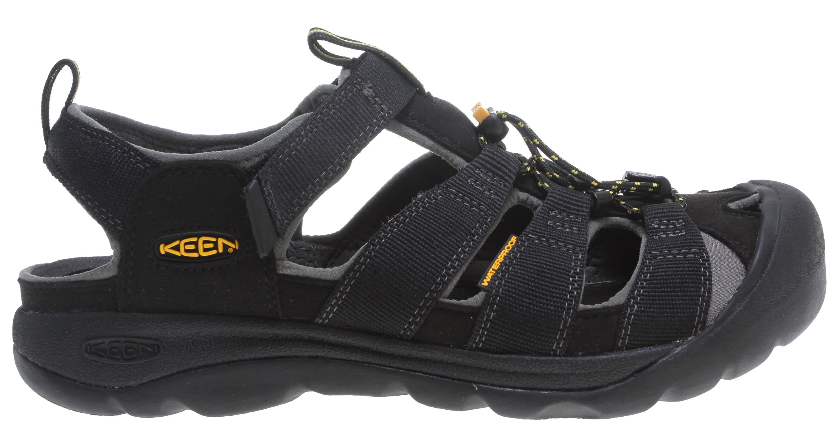 45921121d1ef Keen Commuter III Bike Sandals Black Yellow - Commuter Bikes