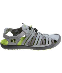 Keen Cypress Sandals Neutral Gray/Green Glow