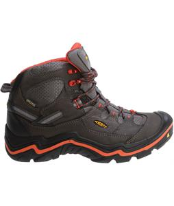 Keen Durand Mid WP Hiking Boots Magnet/Red Clay