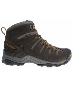 Keen Gypsum Mid Hiking Shoes Slate Black/Gold