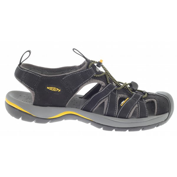 Keen. Keen's walking shoes, water shoes and sandals have been designed with a hybrid life in mind, providing comfort all along the way. Keen began by asking a simple design question: Can a sandal protect the toes? The answer was yes. The answer was the Keen Newport.