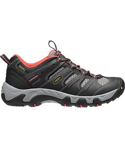 Keen Koven WP Hiking Shoes Raven/Hot Coral
