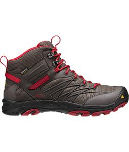 Keen Marshall Mid WP Hiking Boots Black Olive/Chili Pepper