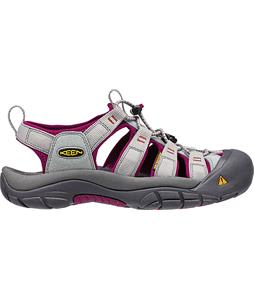 Keen Newport H2 Sandals Neutral Gray/Beet Red