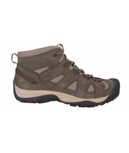 Keen Shasta Mid Hiking Shoes Black Olive/Brindle