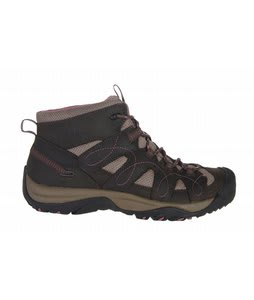 Keen Shasta Mid Hiking Shoes Black Olive/Grape Nectar