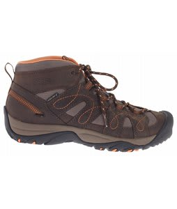 Keen Shasta Mid WP Hiking Shoes Slate Black/Nectarine
