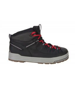 Keen The Dan Hiking Shoes Black Jester Red