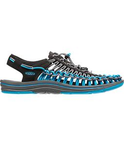 Keen Uneek Sandals Black/Blue Danube