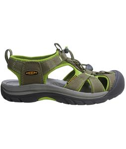 Keen Venice H2 Sandals Burnt Olive/Lime Green
