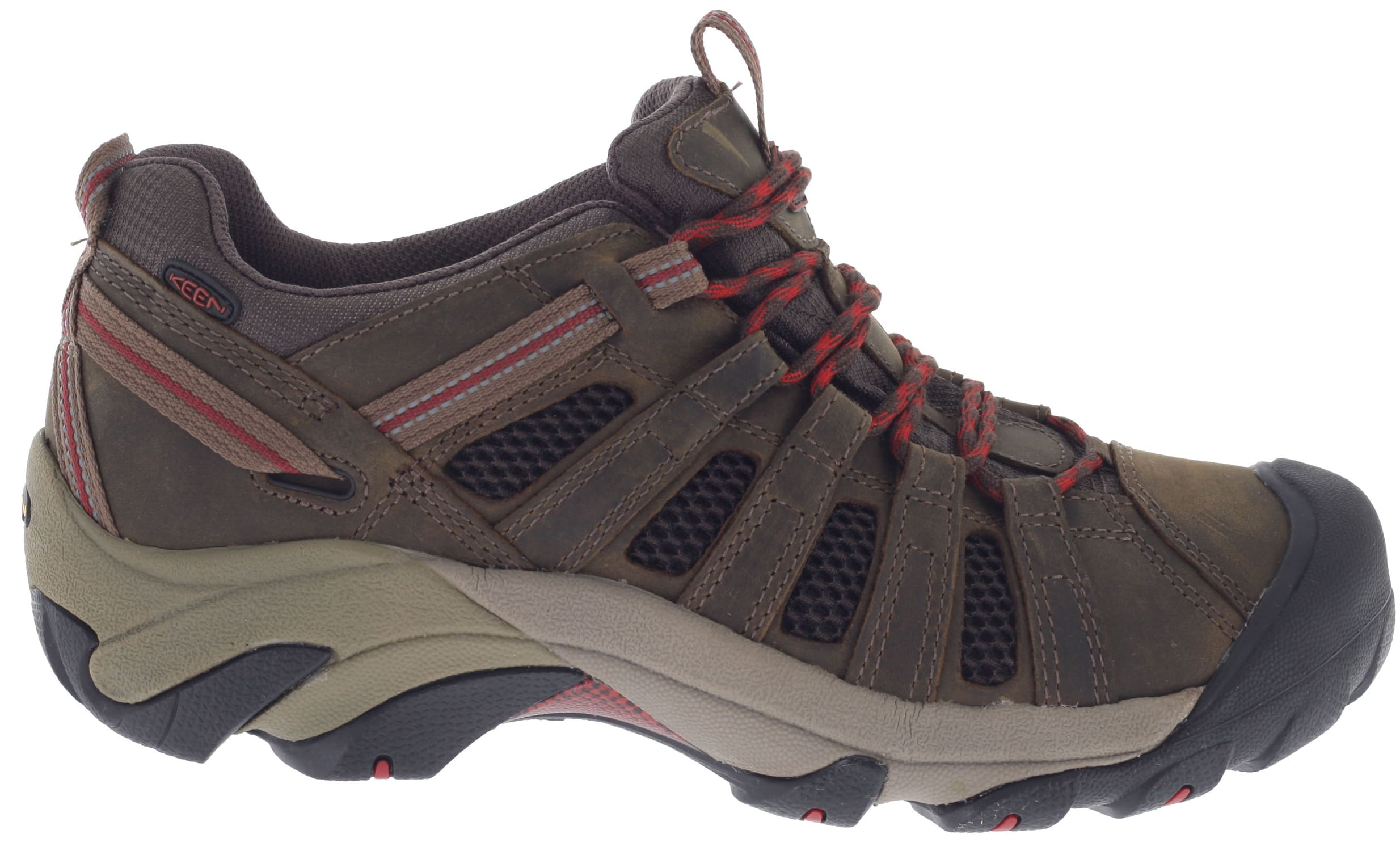 Keen Voyageur Low Hiking Shoes Black Olive/Bossa Nova - Men's - GEAR.