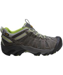 Keen Voyageur Hiking Shoes Neutral Gray/Lime Green