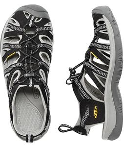 Keen Whisper Sandals Black/Neutral Gray