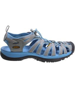 Keen Whisper Sandals Neutral Gray/Alaskan Blue