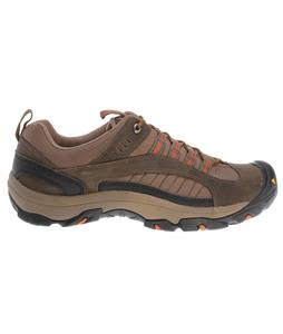 Keen Zion Hiking Shoes Stone Gray/Rust