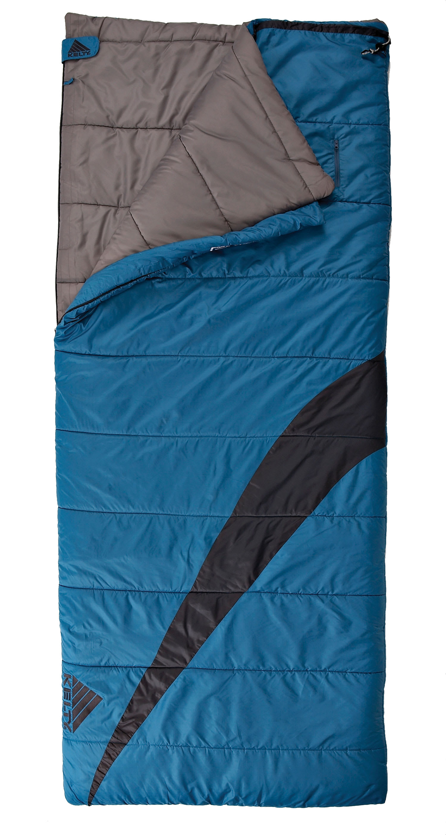 Shop for Kelty Corona 30 Degree Junior Sleeping Bag Dark Blue - Kid's