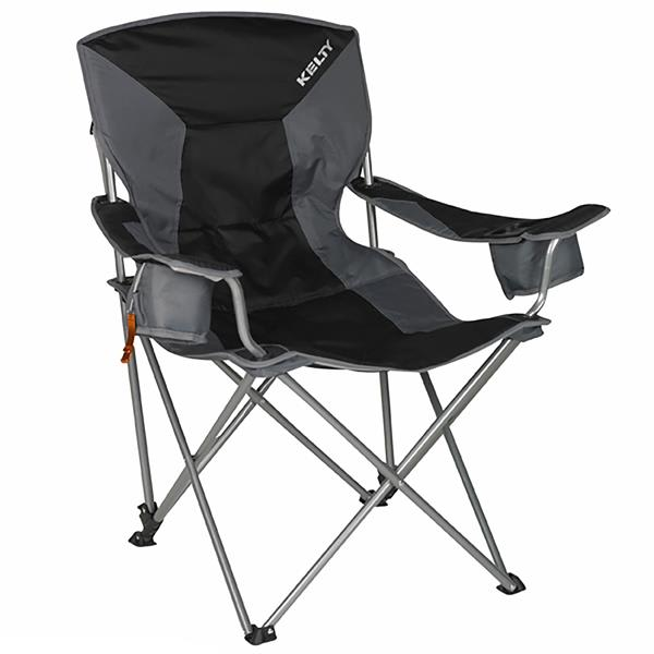 Kelty Deluxe Lounge Camp Chair Black