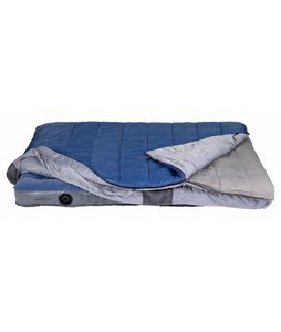 Kelty Satellite 30 Degrees Doublewide Sleeping Bag Blue/Silver