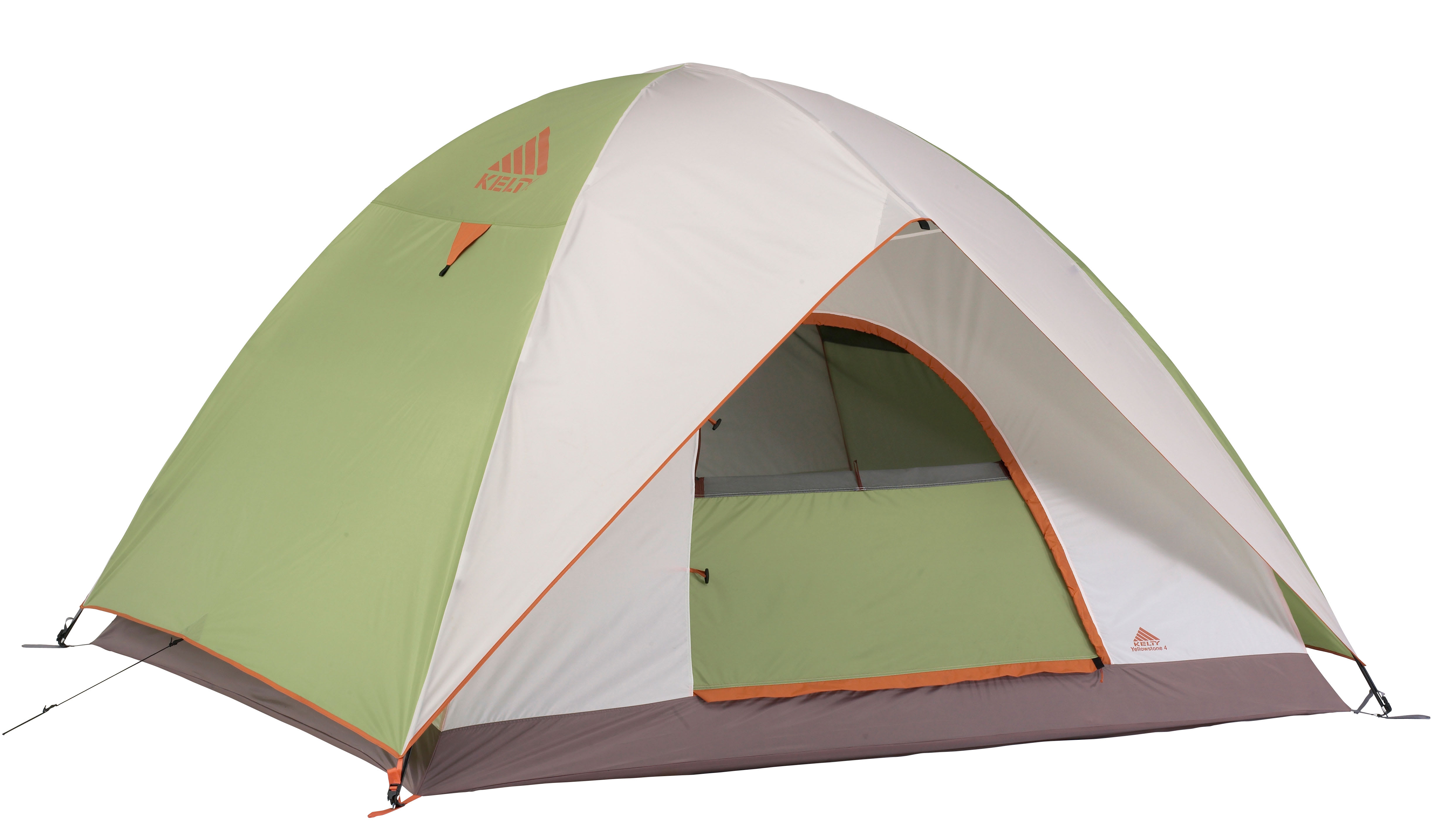 Kelty Yellowstone 4 Person Tent Green/White