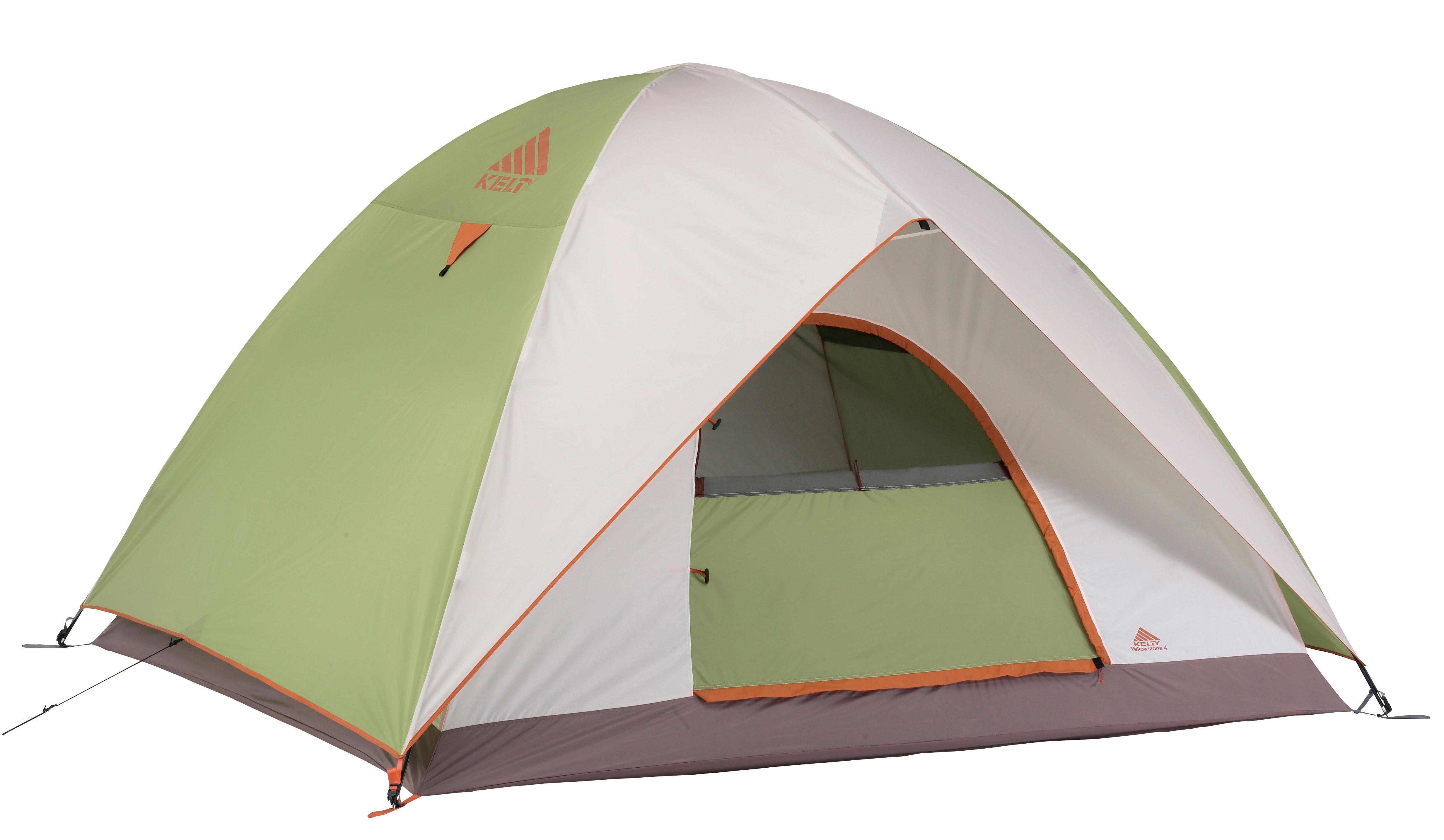 Kelty Yellowstone 4 Person Tent Green White Ketye4gw11zz