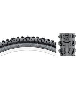 Kenda Smoke-Style Bike Tire Black Steel 26 x 2.1in