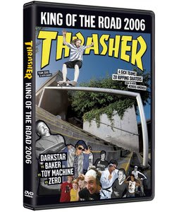 King Of The Road Skateboard DVD