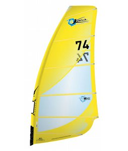Kona One Design Windsurf Sail Yellow 7.4m