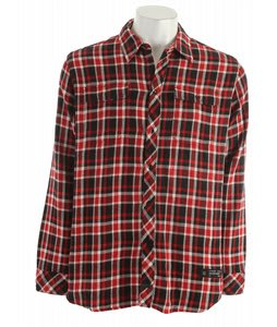 KR3W Automatic Plaid Shirt Red