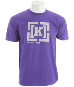 KR3W Bracket Regular T-Shirt Purple