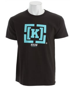 KR3W Bracket Regular T-Shirt Black